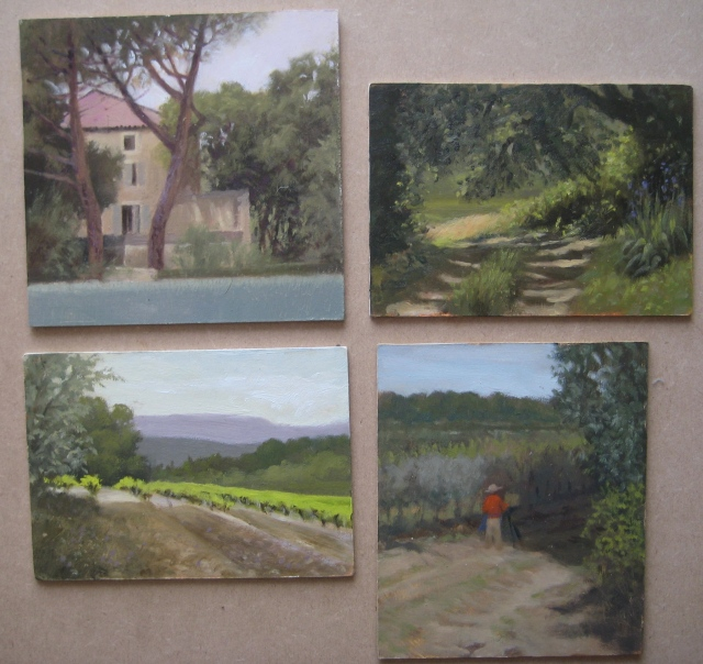 Paintings from Provence